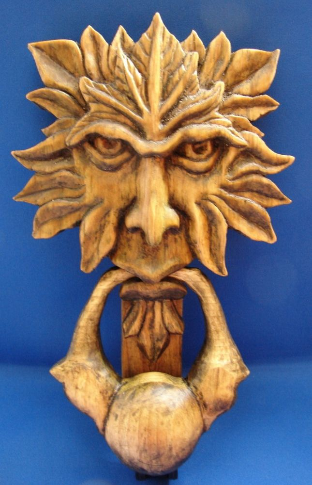 Green man door knocker - Greenman door knocker ...